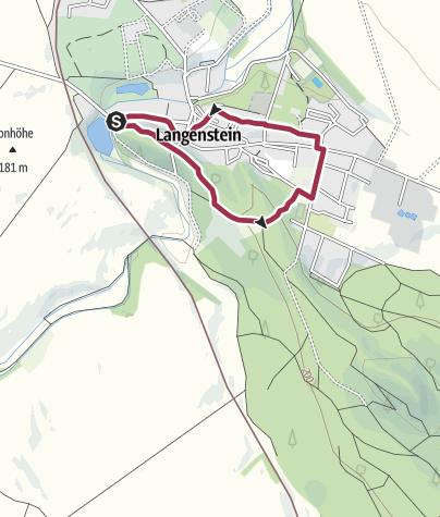 Karte / Höhlen und Ruine Altenburg