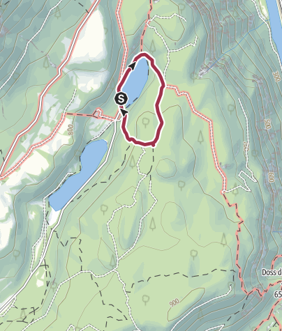 Map / Lago di Lamar – Terlago