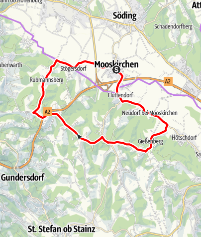 Karte / Mooskirchner Radrundweg