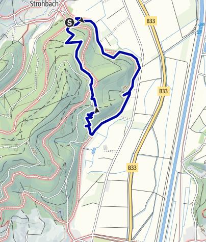 """Map / Naturerlebnisweg """"Räuber Hotzenplotz Pfad"""" Gengenbach"""