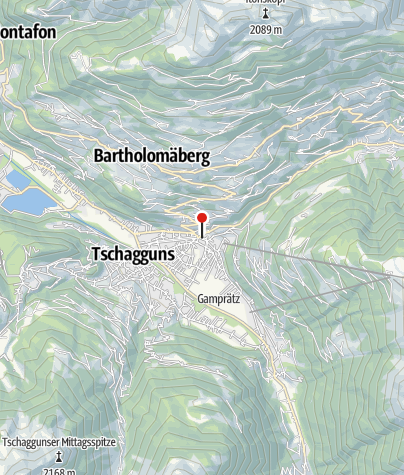 Karte / Dorfgasse
