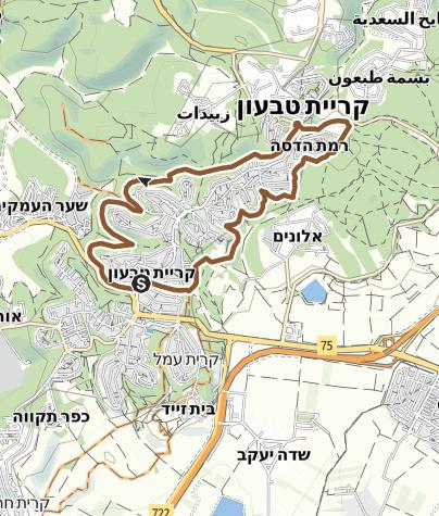 מפה / סובב טבעון