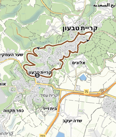 Mapa / סובב טבעון