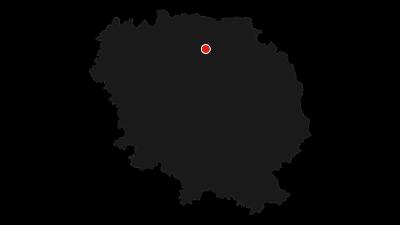 Carte / Tour de Creuse / Etape 6 : Châtelus Malvaleix > Crozant