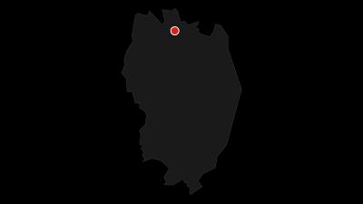Karte / Paddeltour auf der Route des Dalsland Kanot Marathon