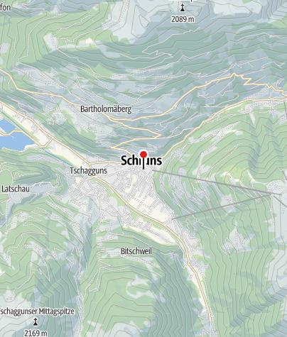 Karte / Wohnhaus Gerichtsweg