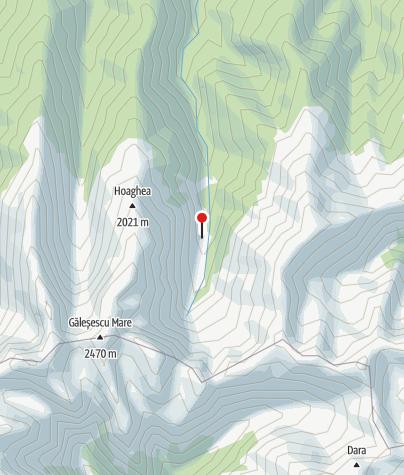 Karte / Cabana Valea Sambetei