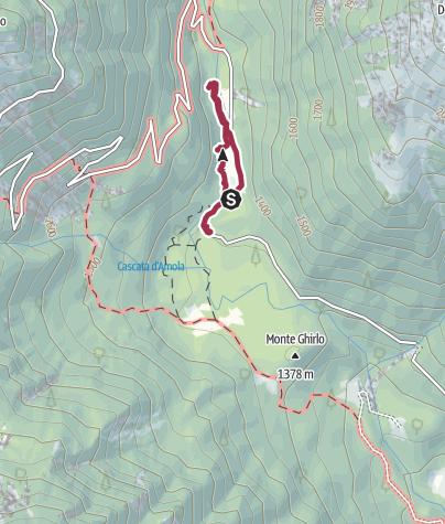 Cartina / Nambrone Dolomiti Natural Wellness - itinerario benessere