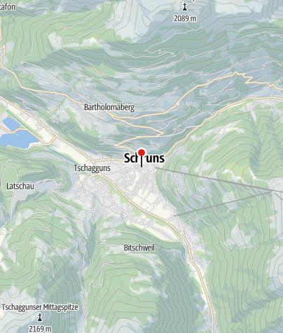 Karte / Messnerhaus