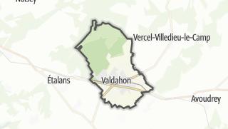 Mapa / Valdahon