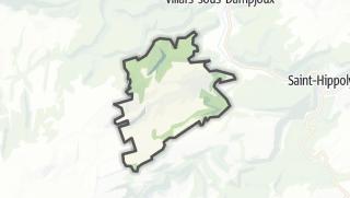 Mapa / Les Terres-de-Chaux