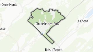 Mapa / Chapelle-des-Bois