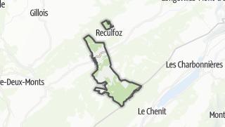 Térkép / Chaux-Neuve