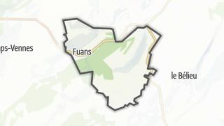 Térkép / Fuans