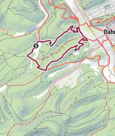 Karte / Spazierwanderweg Kauert-Tour