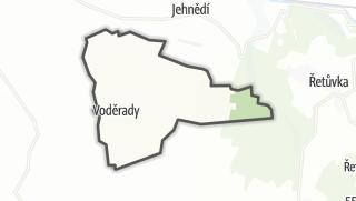 Hartă / Voděrady