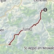 Karte / Via Sacra: Etappe 4/5: Lilienfeld - Annaberg
