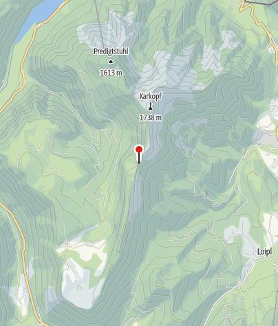 Karte / Bergwacht Diensthütte Törlkopf