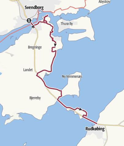 Map / The Archipelago Trail - part 2