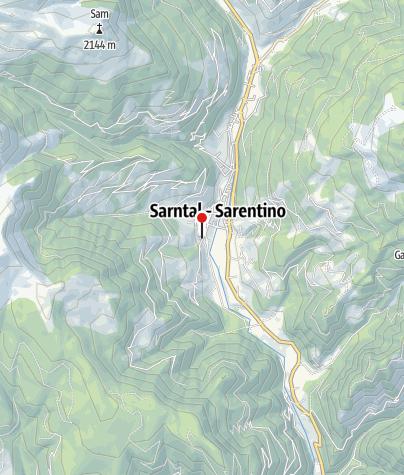 Cartina / Ricamo su cuoio Thaler