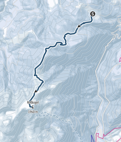Karte / Skitour  Wim/Aschau/Brandenberg