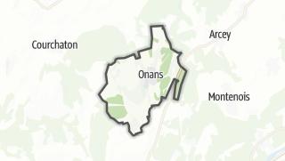 Térkép / Onans