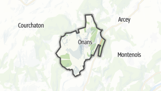 Mapa / Onans