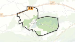 Térkép / Saint-Hilaire