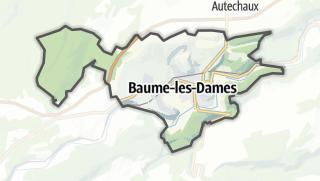 Mapa / Baume-les-Dames