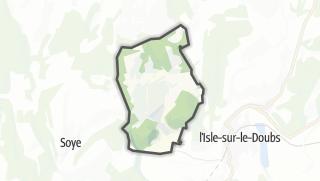 Mapa / Mancenans