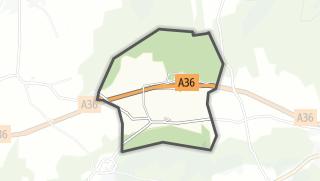 Mapa / L'Ecouvotte