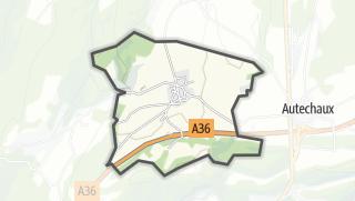 Mapa / Luxiol