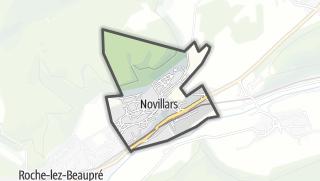 Mapa / Novillars