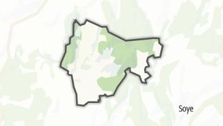 Mapa / Uzelle