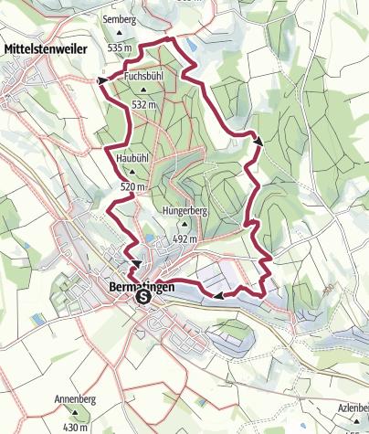 Map / Bermatinger Waldwiesen