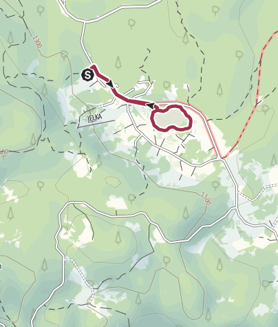 Map / Goreljek Peat Bog