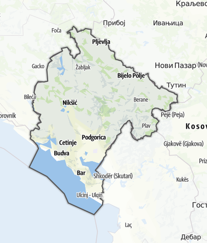 Karte / Montenegro