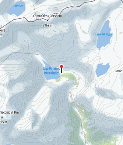 Karte / Rifugio Bim-Se al Lago (Rifugio Bimmsee)