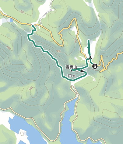 地图 / 雪窦山之旅