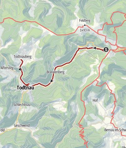 Karte / Genießerpfad - Wasserfallsteig
