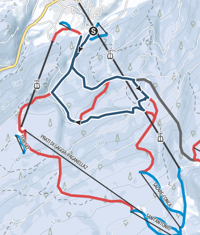 Cartina / Andalo - Dosson