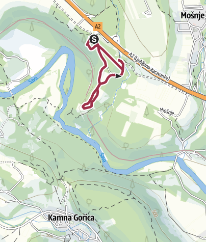 Map / Radovljica Forest Nature Trail