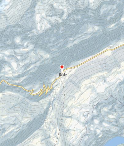 Karte / Touristenlager Gemeindehaus Realp