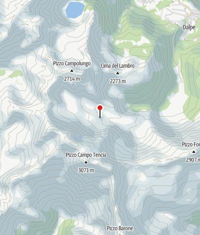 Karte / Capanna Campo Tencia