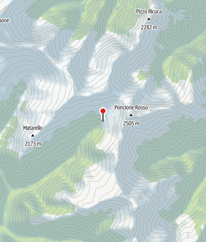 Karte / Capanna Alpe Fümegna