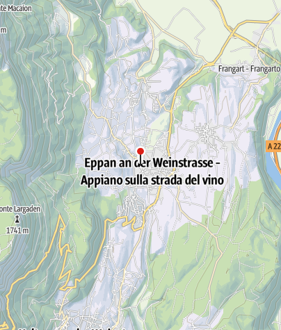 Karte / Eppan Culinaria | Gemüse trifft Wein, 1.-31. Mai 2019