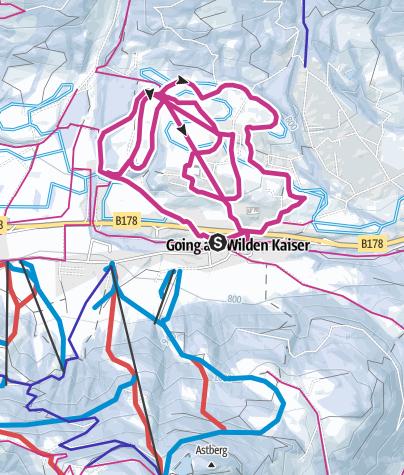 Karte / Rundwanderweg Schwendter Sonnenplateau