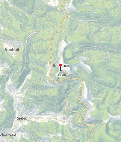 Karte / Grinde-Hütte (Hornisgrinde)