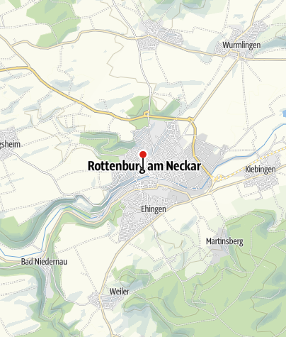 Map / Rathaus Rottenburg am Neckar