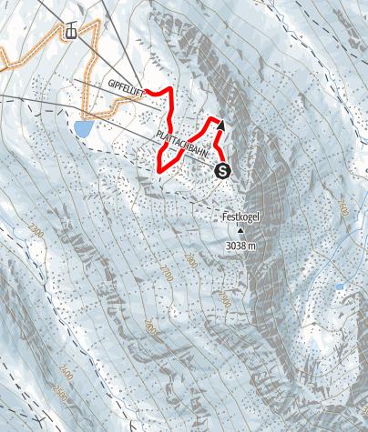 Karte / Singletrail Festkogl (687)